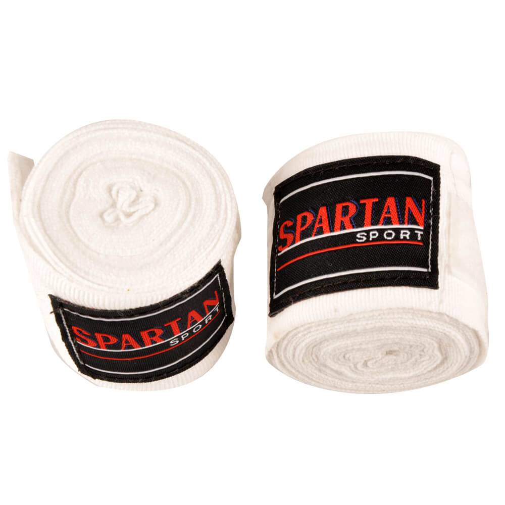 Spartan Boxerské bandáže Spartan 380 cm biela