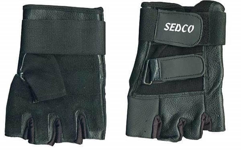 Sedco Rukavice fitnes SEDCO kůže - S