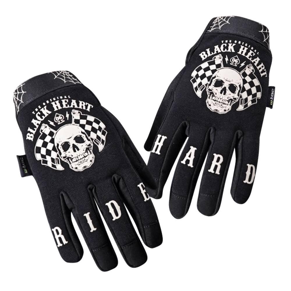 W-Tec Moto rukavice W-TEC Black Heart Restarter čierna - S