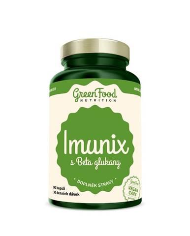 GreenFood Imunix s Beta glukánmi 90 kapsúl