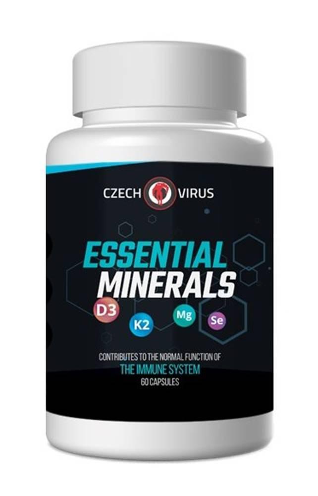 Czech Virus Essential Minerals - Czech Virus 60 kaps.