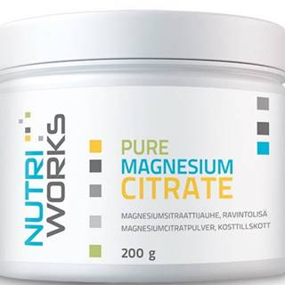 NutriWorks Pure Magnesium Citrate 200 g