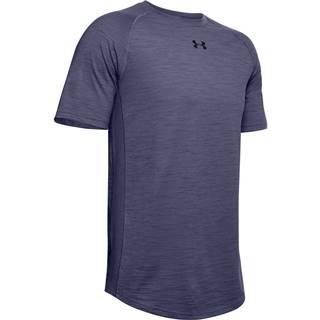 Pánske tričko Under Armour Charged Cotton SS Blue Ink - M
