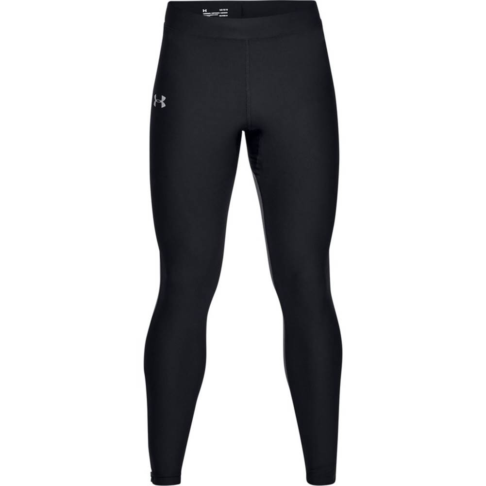 Under Armour Pánske kompresné legíny Under Armour Qualifier HeatGear Glare Tight Black - M