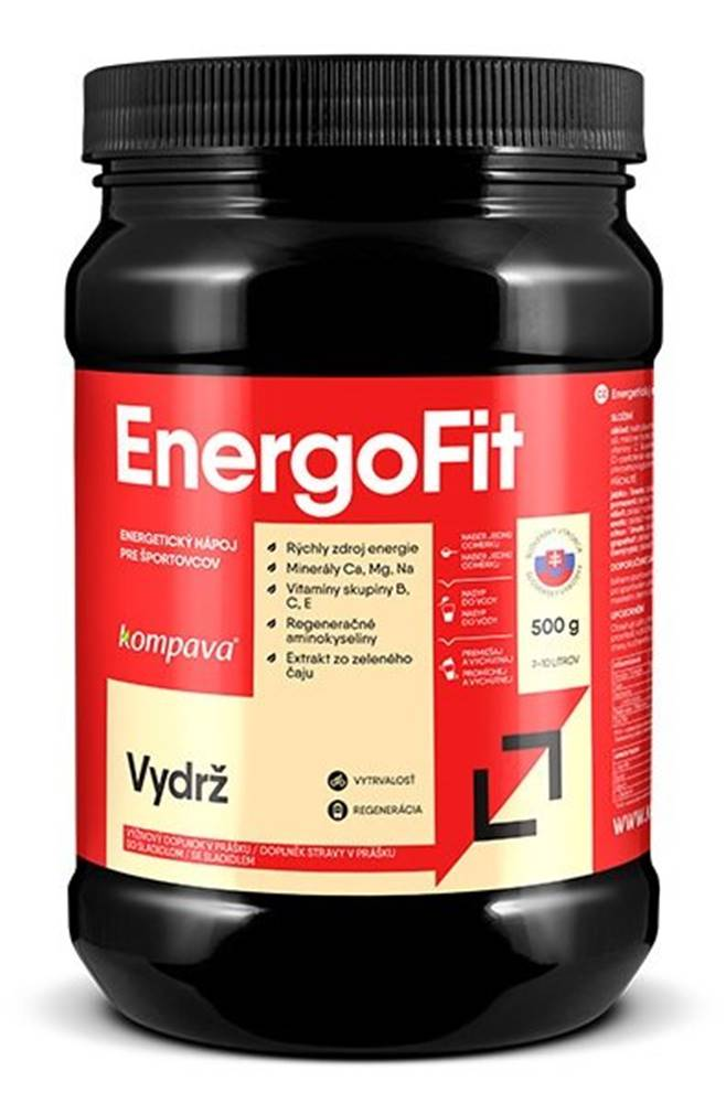 Kompava EnergoFit - Kompava 500 g Citrón+Limetka