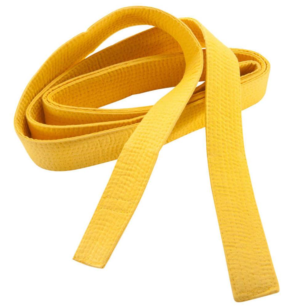 OUTSHOCK OUTSHOCK Prešívaný Opasok 2,5 M žltý