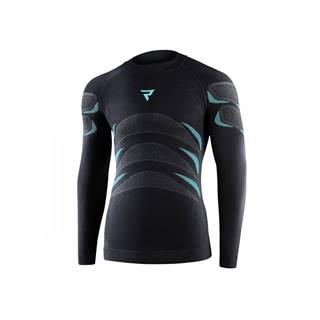 Moto thermo tričko Rebelhorn Therm Jersey čierna - XS/S