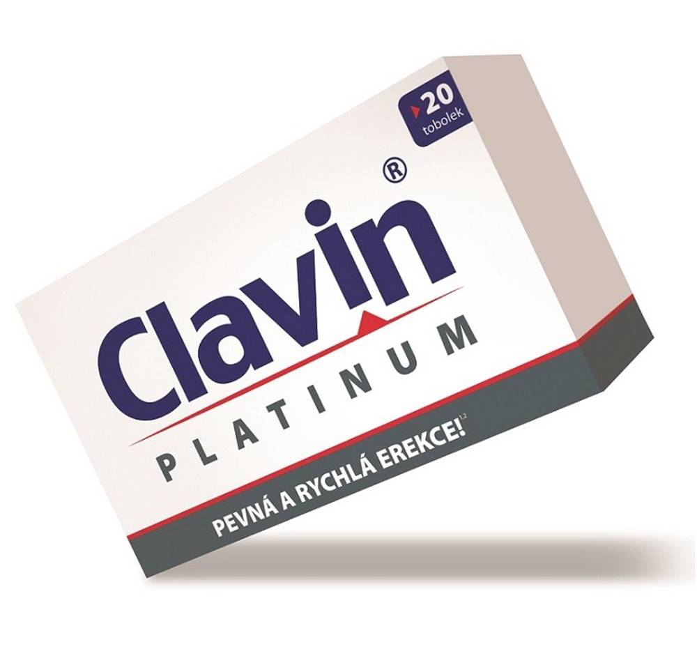 Clavin Clavin Platinum 20 kapsúl