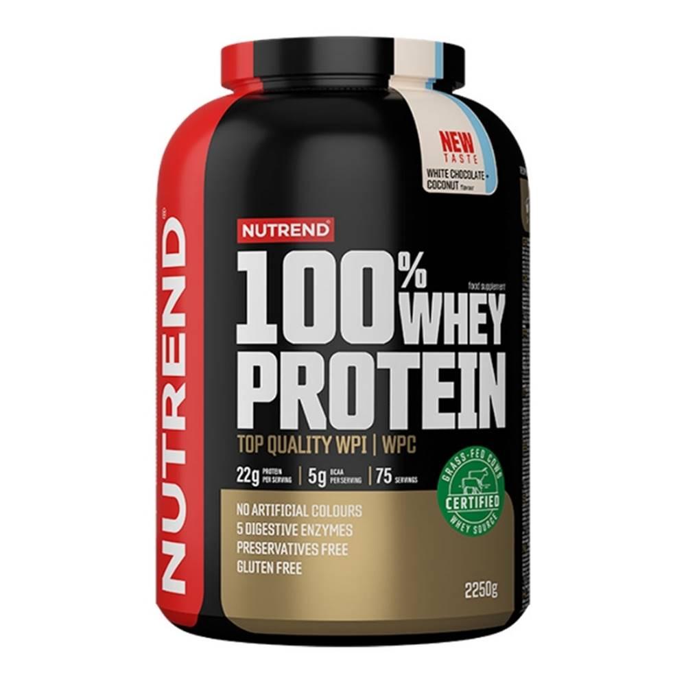 Nutrend Nutrend 100% Whey Protein 2250 g biela čokoláda kokos