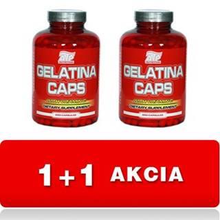 1+1 Zadarmo: Gelatina Caps - ATP Nutrition 100 kaps + 100 kaps