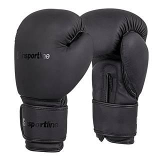 Boxerské rukavice inSPORTline Kuero čierna - 8oz