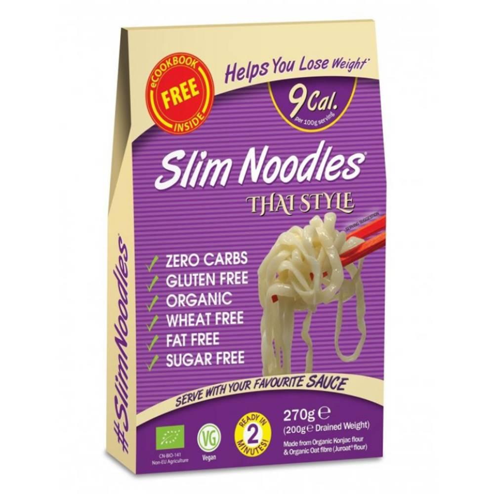 Slim Pasta Slim Pasta BIO Cestoviny Slim Pasta Noodles Thai Style 270 g