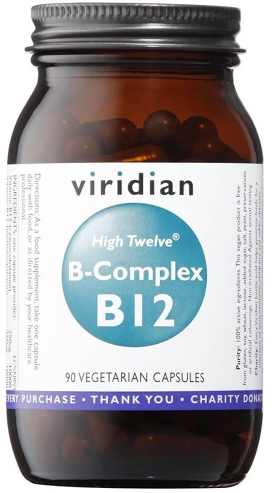 Viridian Viridian B-Complex B12 High Twelwe 90 kapsúl