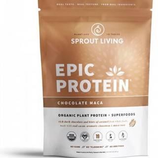 Sprout Living Epic proteín organic Čokoláda a Maca 455 g