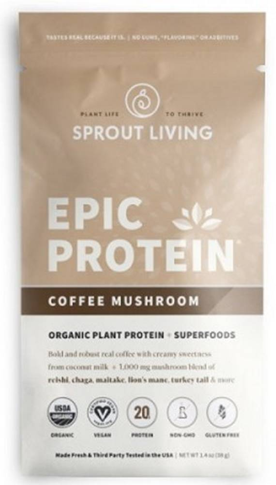 Sprout Living Sprout Living Epic proteín organic Coffee Mushroom 38 g