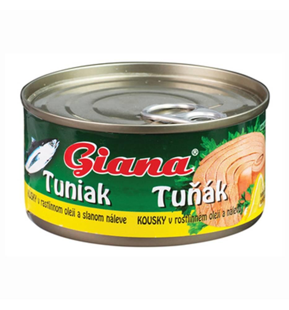 GIANA Giana Tuniak v rastlinnom oleji 185 g