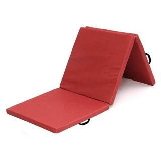 Žíněnka skládací třídílná SEDCO 180x60x5 cm - Červená