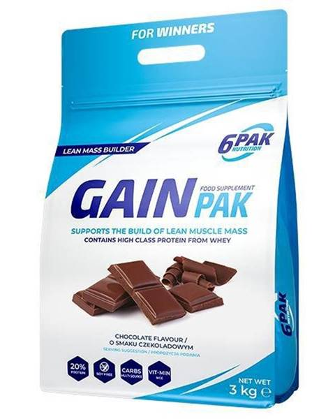 Sacharidy a gainery 6PAK Nutrition