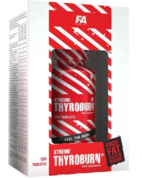 Fitness Authority Xtreme Thyroburn - Fitness Authority 120 kaps