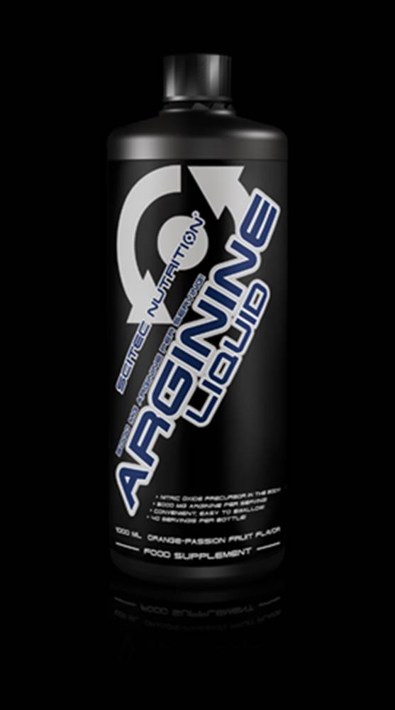 Scitec Nutrition Scitec Nutrition Arginine Liquid 1000 ml 1000ml Pomeranč