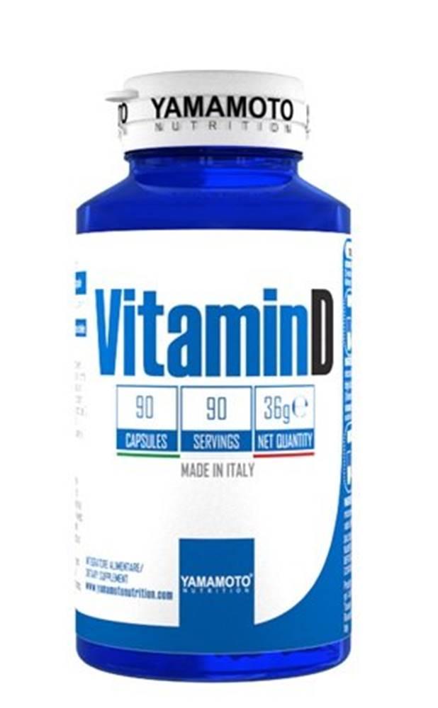 Yamamoto Vitamin D 25 mcg - Yamamoto 90 kaps.