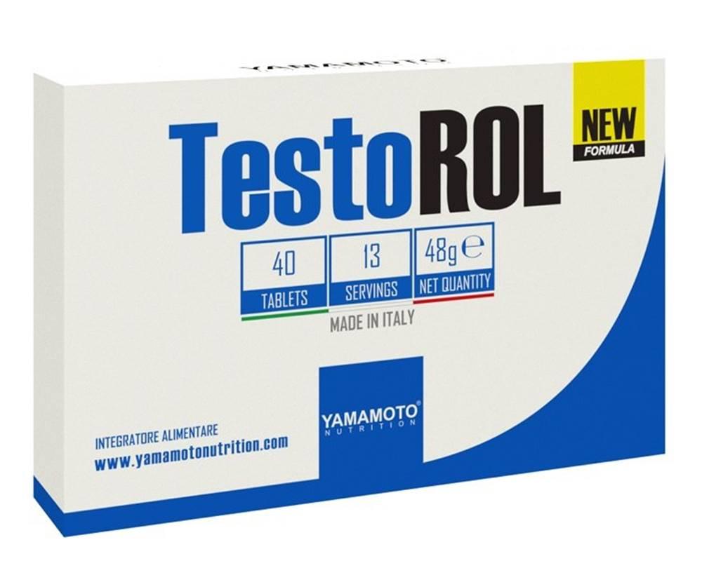Yamamoto TestoROL (stimuluje produkciu testosterónu) - Yamamoto 40 tbl.