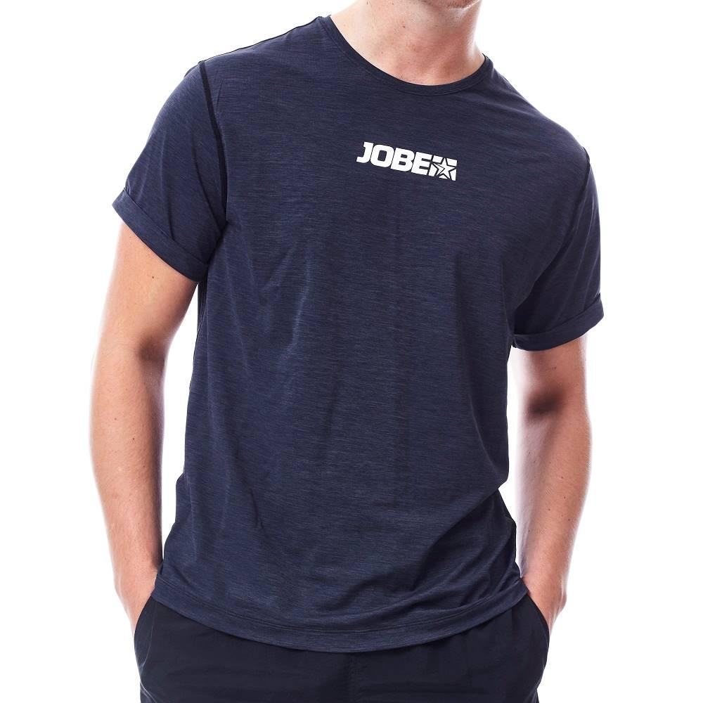 JOBE Pánske tričko na vodné športy Jobe Rashguard Loose Fit čierna - S