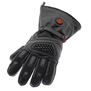 Vyhrievané lyžiarske a moto rukavice Glovii GS1 čierna - L