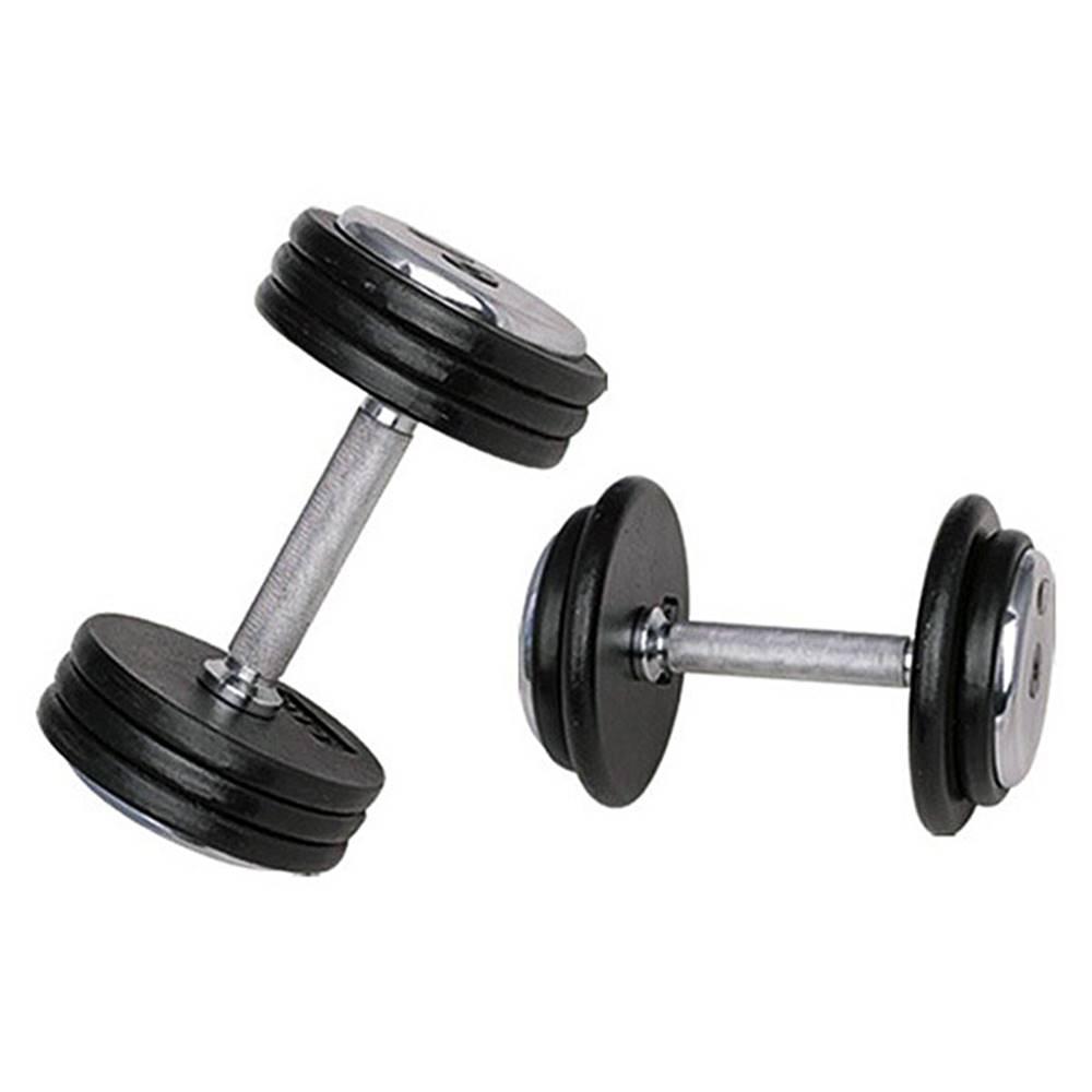 Insportline Jednoručná činka inSPORTline ProfiST 17,5 kg