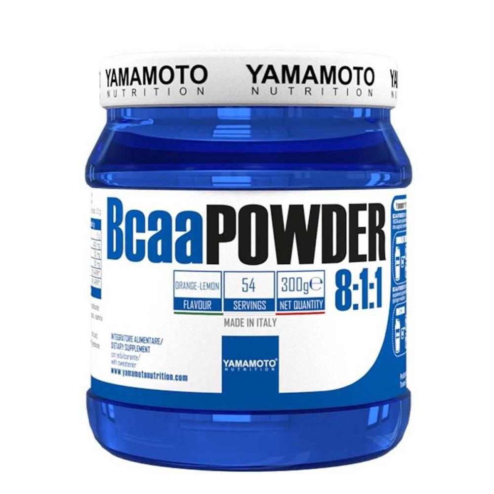 Yamamoto Yamamoto BCAA Powder 8:1:1 Hmotnost: 300g, Příchutě: Pomeranč