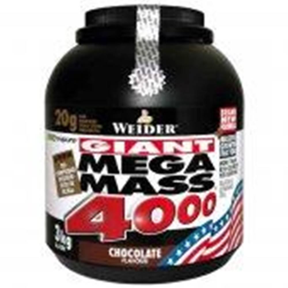 Weider Weider Giant Mega Mass 4000 3000g Vanilka