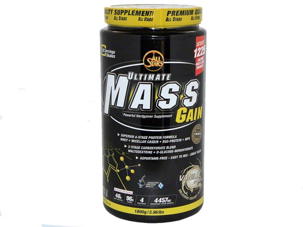 All-Stars Ultimate Mass Gain - VÝPREDAJ 1800g Vanilka