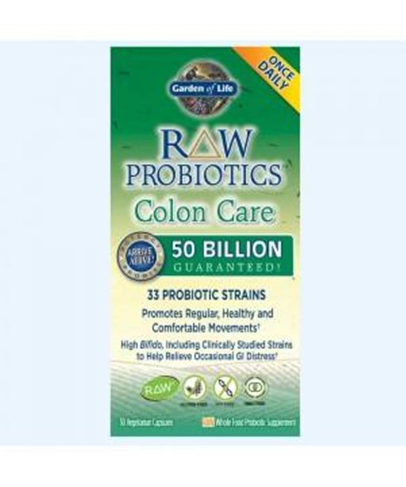 Garden of life RAW Probiotika - péče o tlusté střevo - 50 miliard CFU