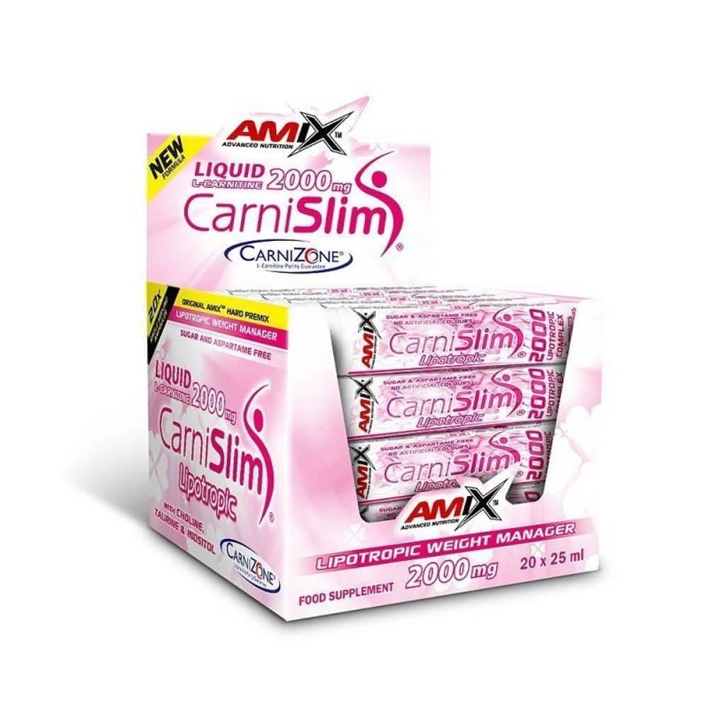 Amix Nutrition CarniSlim - VÝPRODEJ Příchuť: Fresh Lime, Balení (ml): 20x25ml
