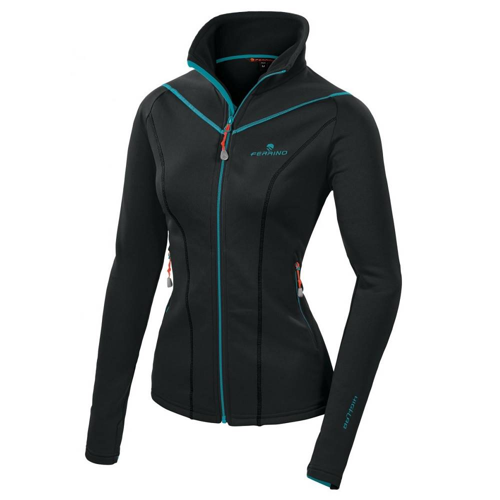 Ferrino Dámska mikina Ferrino Tailly Jacket Woman New Black - XS
