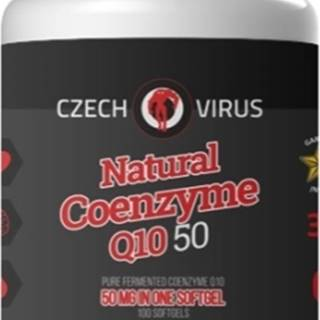 Czech Virus Natural Coenzyme Q10 50 100 kapsúl
