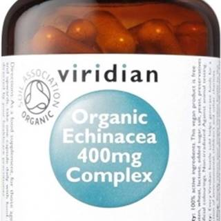 Viridian Organic Echinacea 400 mg Complex 60 kapsúl