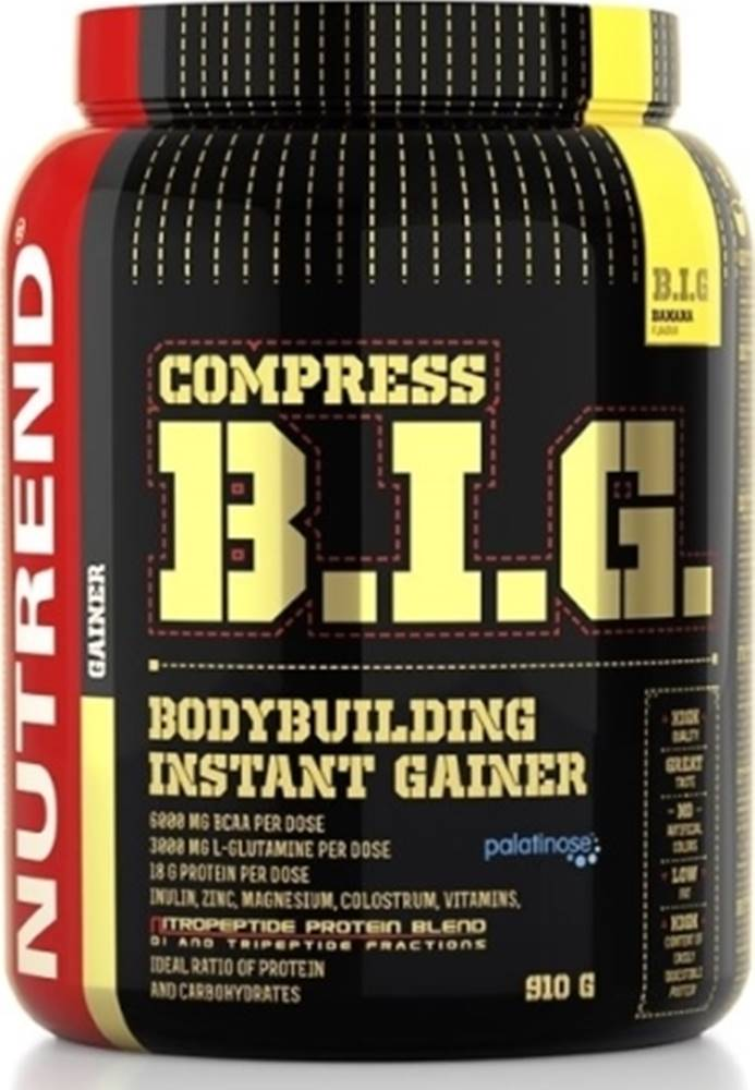 Nutrend Nutrend Compress B.I.G. 910 g variant: banán
