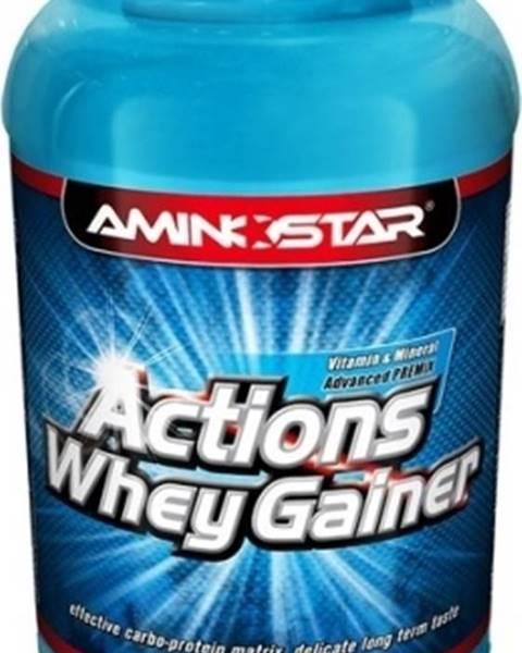 Aminostar Aminostar Whey Gainer Actions 4500 g variant: čokoláda
