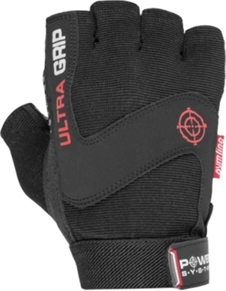 Power System Power System Fitness rukavice Ultra Grip čierne variant: M