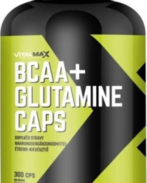 Vitalmax Vitalmax BCAA+ Glutamín Caps 300 kapsúl
