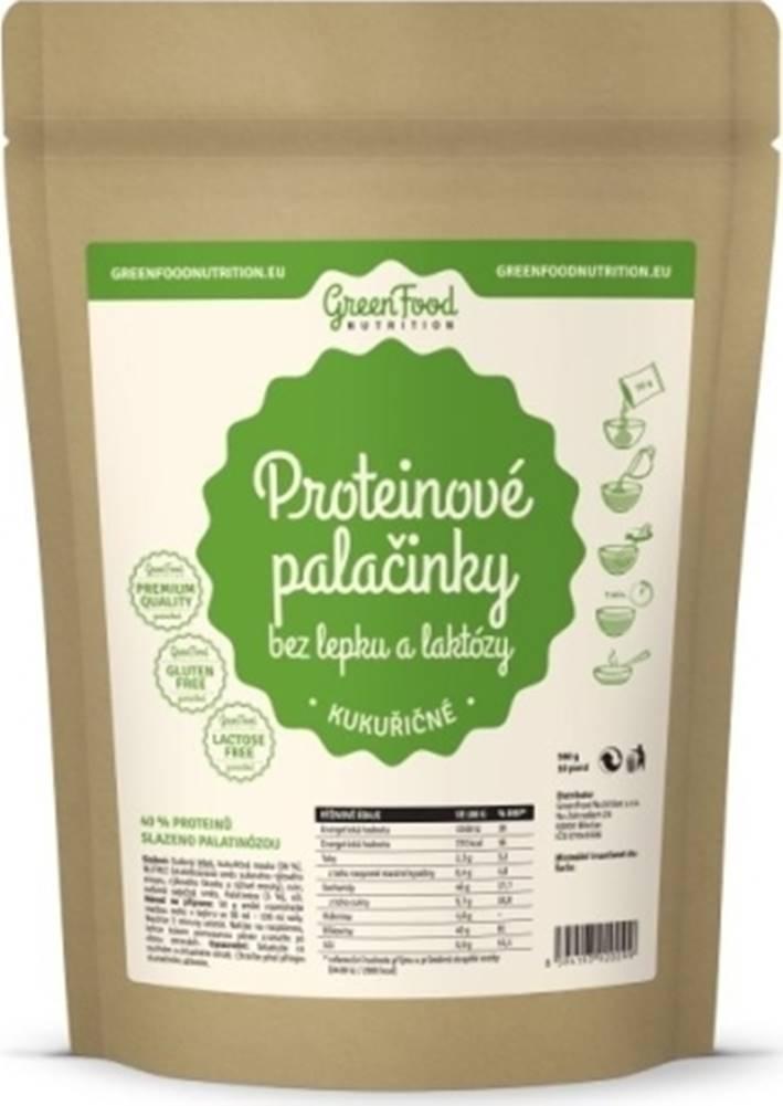 GreenFood GreenFood Proteínové palacinky bez lepku a laktózy kukuričné 500 g