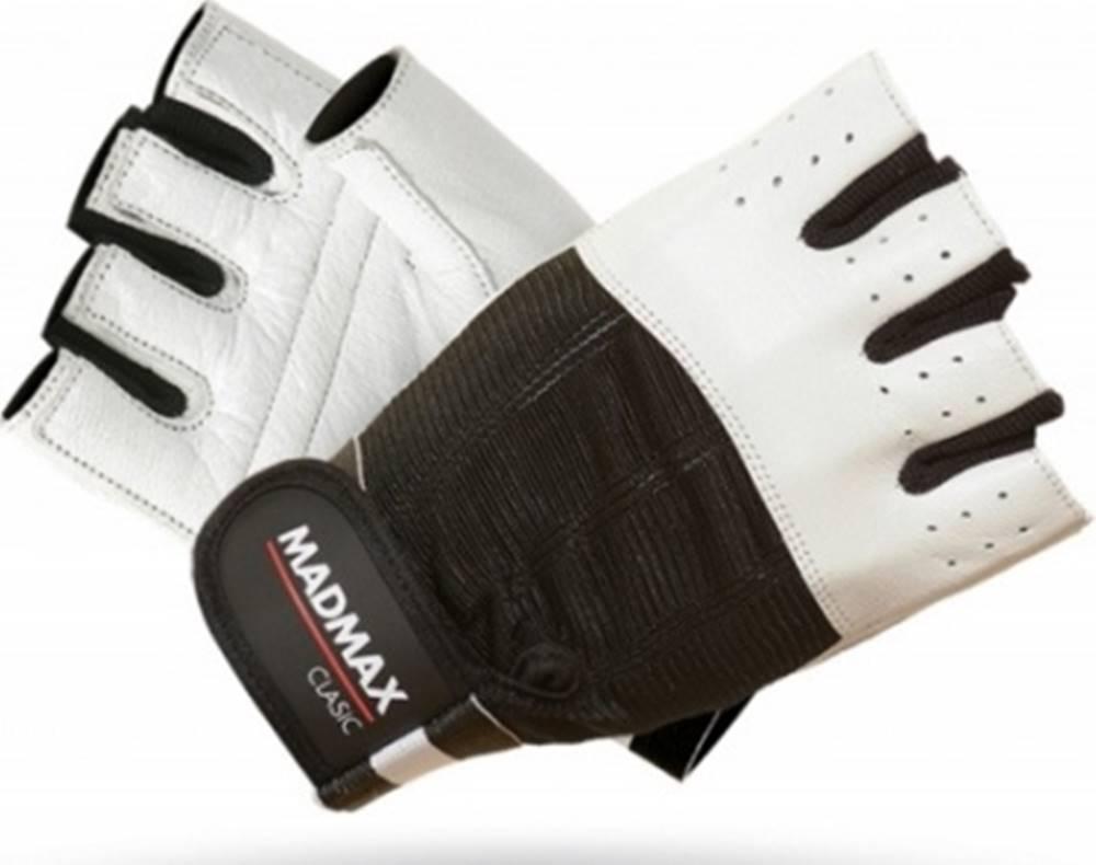 MadMax Madmax Rukavice Clasic MFG248 biele variant: L