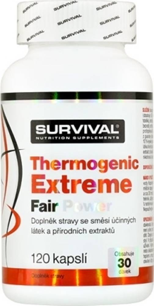 Survival Survival Thermogenic Extreme Fair Power 120 kapsúl