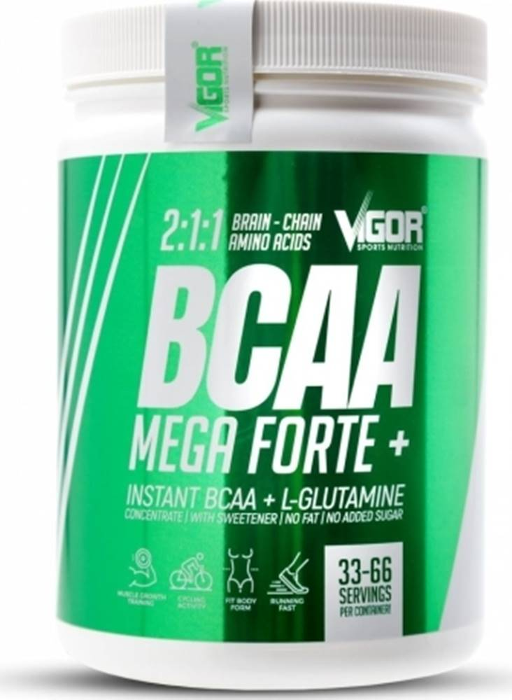 Vigor Sports Nutrition Vigor Nutrition Vigor BCAA Mega Forte + Glutamín 500 g variant: višňa