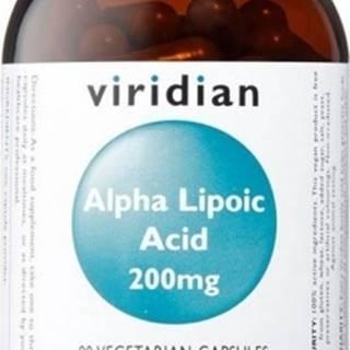 Viridian Alpha Lipoic Acid 200 mg 90 kapsúl