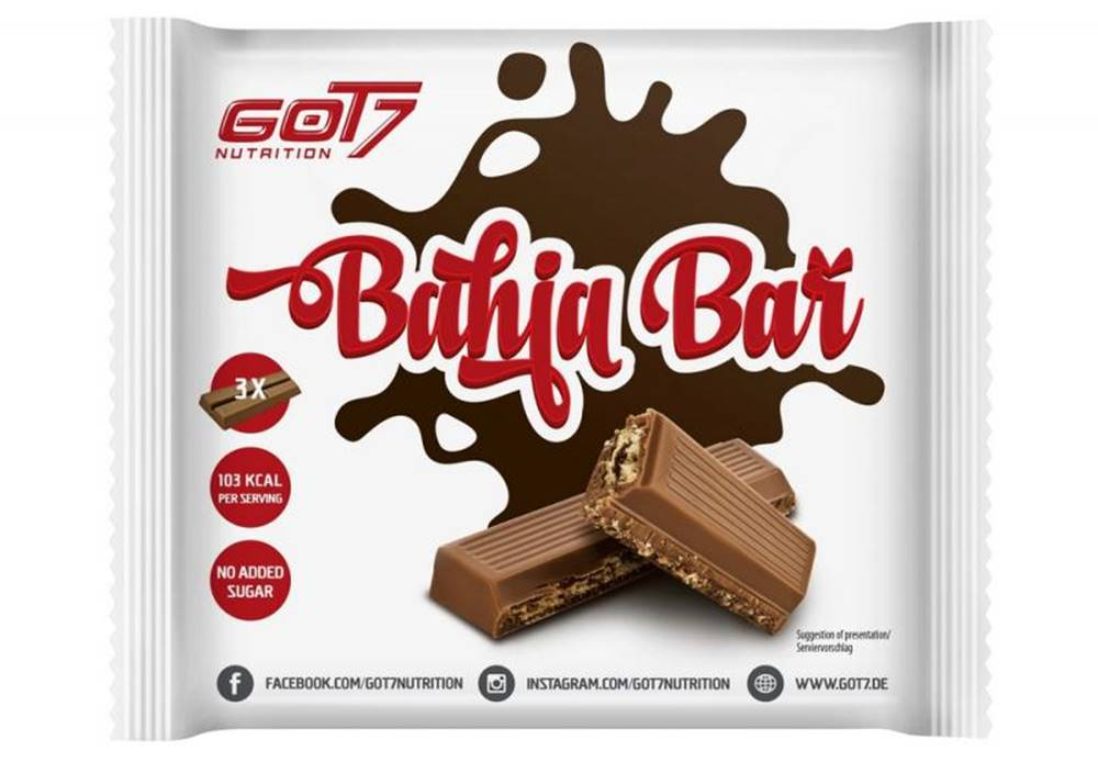 GOT7 Nutrition GOT7 Bahia Bar Hmotnost: 65g