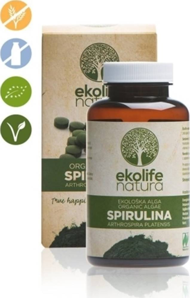 Ekolife Natura Ekolife Natura Algae Spirulina Organic (Bio riasa Spirullina) 240 tabliet