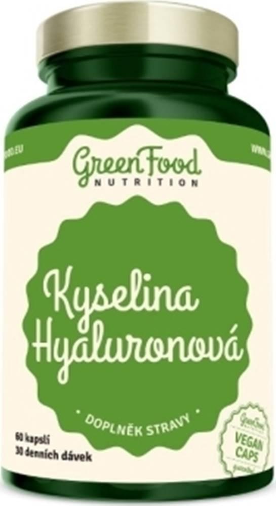 GreenFood GreenFood Kyselina hyalurónová 60 kapsúl