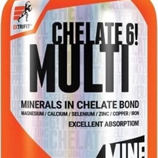 Extrifit Chelate 6! Multimineral 90 kapsúl